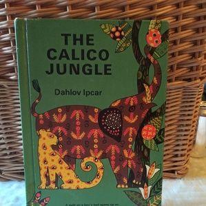 Vintage 1965 Calico Jungle Book